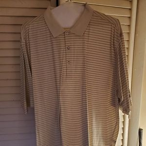 Men's Gold Shirt Fairway Greene 100 % cotton